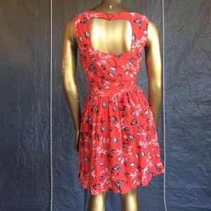 American Rag Dresses - American Rag Red dress with butterflies S
